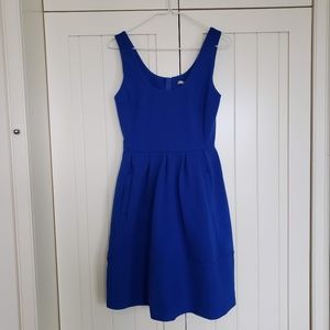BANANA REPUBLIC Royal Blue Dress w/ Pockets